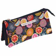 GRAFOPLAS 37540634. Estuche escolar portatodo triple Jocelyn Proust Orange