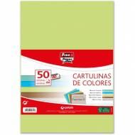 GRAFOPLAS 00001495. Pack 50 cartulinas Fixo paper A4 de 180  gr. Colores fuertes II