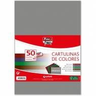 GRAFOPLAS 00001496. Pack 50 cartulinas Fixo paper A4 de 180  gr. Colores intensos