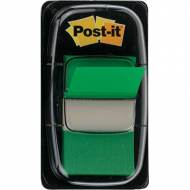 POST-IT 680-3. Indices adhesivos Index Dispensador 50 ud 25,4 x 43,1. Color verde