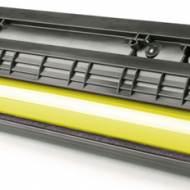 Iberjet D525YC Cartucho de tóner amarillo, reemplaza a Dell 593BBLV
