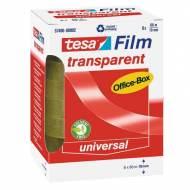 TESA Cinta Tesafilm® transparente, 19 mm x 66 m. - Pack 8 rollos - 57406-00002-00