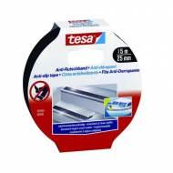 TESA Cinta de seguridad para escaleras, 25mm x 15m. Color negro - 55589-00000-00