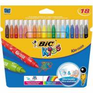 BIC Kid Couleur. Estuche 18 rotuladores. Colores sutidos -841799