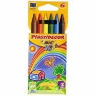 BIC Estuche de 6 plastidecor de colores surtidos - 875773