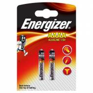 ENERGIZER Pack 2 pilas alcalinas Ultra+ LR61 (AAAA) - 633477