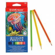 ErichKrause 32878. Caja 12 lápices de colores haxagonales ArtBerry