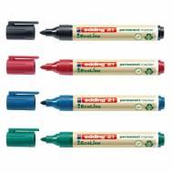 Edding 21001 EcoLine. Marcador permanente con punta redonda. Colores