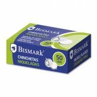 BISMARK 318392 Chinchetas niqueladas (ø 12 mm.) Caja de 50