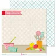GRAFOPLAS 37018665. Papeles scrapbooking (Utensilios) colección Mis recetas