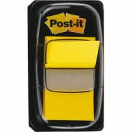 POST-IT 680-5. Indices adhesivos Index Dispensador 50 ud 25,4 x 43,1. Color Amarillo