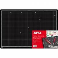 APLI 13919. Tabla de corte milimetrada premium A3 (450 x 300 x 5 mm.)