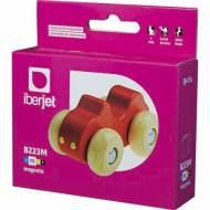 Iberjet B223M. Cartucho de tinta magenta, reemplaza a Brother LC223M