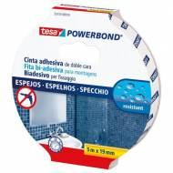 TESA Cinta adhesiva  doble cara Powerbond (extra fuerte) 19 mm x 1,5 m. - 55733-00018-02