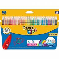 BIC Kid Couleur. Estuche 24 rotuladores. Colores sutidos -841800