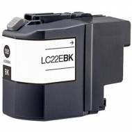 Iberjet BLC22EBK Cartucho de tinta negro, reemplaza a Brother LC22EBK