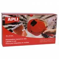 APLI 101419. Etiquetadora de precios 2 líneas (10 caracteres)