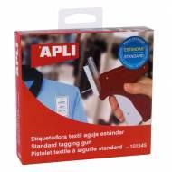 APLI 101545. Etiquetadora textil de navetes aguja estándar