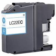Iberjet BLC22EC Cartucho de tinta cian, reemplaza a Brother LC22EC