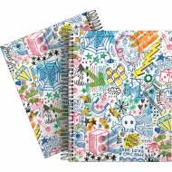 GRAFOPLÁS 16511994. Cuaderno tapa dura A5, 90 hojas, Elena Corredoira Garabatos