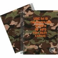 GRAFOPLÁS 16512603. Cuaderno tapa dura A5, 90 hojas, Master & Commander Verde