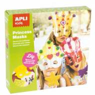 APLI 14486. Kit manualidades Antifaces Princesa
