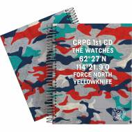 GRAFOPLÁS 16512609. Cuaderno tapa dura A5, 90 hojas, Master & Commander Rojo