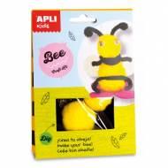 APLI 14618. Kit manualidades Craft abeja