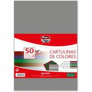 GRAFOPLAS 00001796. Pack 50 cartulinas Fixo paper A3 de 180  gr. Colores intensos