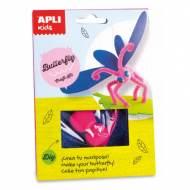 APLI 14620. Kit manualidades Craft mariposa