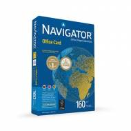 NAVIGATOR NOC1600016. Papel blanco Office Card 160 g. A4, 250 hojas