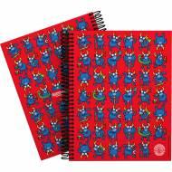 GRAFOPLÁS 16512632. Cuaderno tapa dura A5, 90 hojas, Katuki Bull