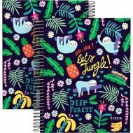 GRAFOPLÁS 16512635. Cuaderno tapa dura A5, 90 hojas, Elena Corredoira Jungle