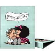 GRAFOPLAS 88141973. Pack 2 carpetas de anillas 25 mm. A4 Mafalda Muak