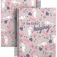 GRAFOPLÁS 16512636. Cuaderno tapa dura A5, 90 hojas, Elena Corredoira Hedgehog