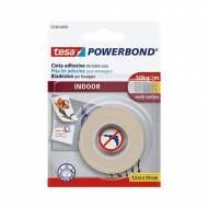 TESA Cinta adhesiva  doble cara Powerbond (pequeños objetos) 19 mm x 1,5 m. - 55740-00002-02