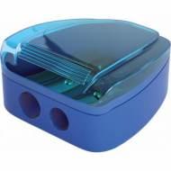 ErichKrause 33616. Sacapuntas de plástico con contenedor 2 entradas