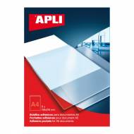 APLI 02575. Bolsillos adhesivos con solapa A4 (220 x 305 mm)