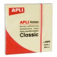 APLI 10975. Notas adhesivas Classic 100 hojas (75 x 75 mm)