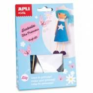 APLI 14691. Kit manualidades Craft Isabella Princesa