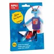 APLI 14703. Kit manualidades Craft Zero Robot