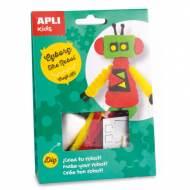 APLI 14704. Kit manualidades Craft Cyborg Robot