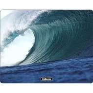 Fellowes 58713. Alfombrilla reciclada rectangular rígida olas