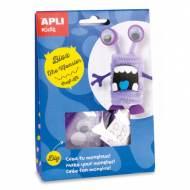 APLI 14705. Kit manualidades Craft Bloz Monstruo