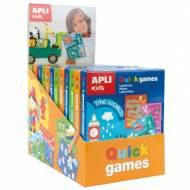 APLI 15231. 12 juegos de entretenimiento Quick Games