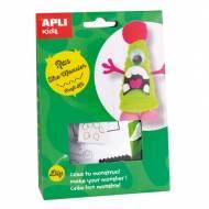 APLI 14706. Kit manualidades Craft Ras Monstruo