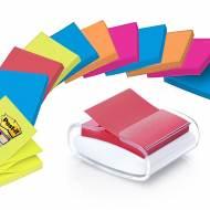 POST-IT Dispensador notas adhesivas Z-Notes + Dispensador blanco - PRO-W-1SSCOL-R330