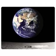 Fellowes 58715. Alfombrilla reciclada rectangular rígida tierra y luna