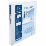 EXACOMPTA Carpeta anillas Krea corver A4 2-25mm BLANCO Personalizable - 51826E