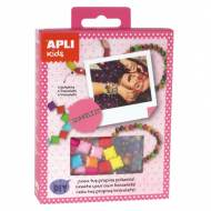 APLI 14707. Mini kit manualidades Pulseras Brillante
